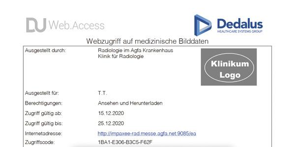 Dedalus HealthCare | DeepUnity Web.Access und Web.Upload