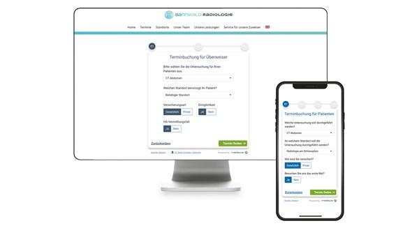Mit flexibler Online-Terminbuchung Patienten und Zuweiser binden