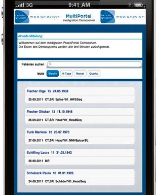 medigration | MultiPortal – die App