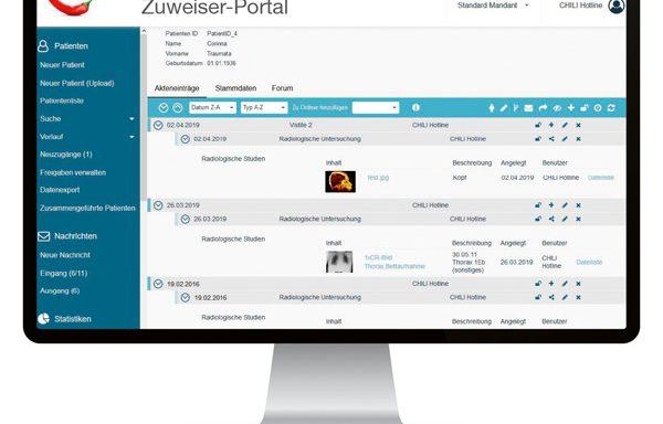 NEXUS / CHILI | Zuweiser-Portal