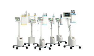 Erster und einziger Doppelkolben-Injektor für die kontrastmittel-gestützte Mammographie