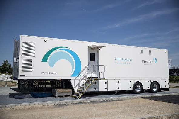 Mobile MRT-Diagnostik – jetzt im Borussia Park