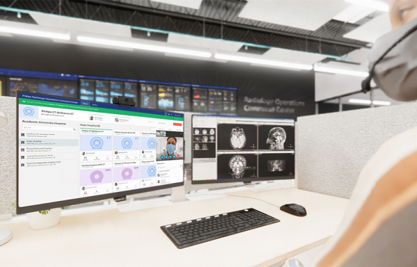 Philips bringt branchenweit erstes herstellerneutrales Radiology Operations Command Center auf den Markt
