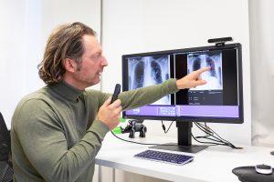 Röntgenuntersuchung der Lunge: Künstliche Intelligenz in der klinischen Diagnostik