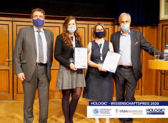 Vierter Hologic-Wissenschaftspreis