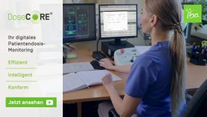 Digitales Monitoring der Patientendosimetrie