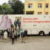Mobiles MRT für HerzCheck im ländlichen Raum