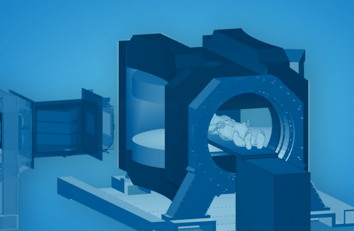 HZDR-Forscher*innen kombinieren Magnetresonanz-Tomographie mit Protonentherapie