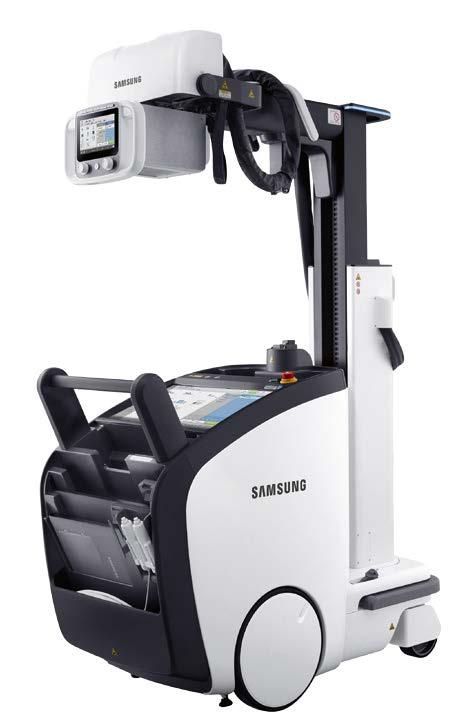 Mehr Zeit für den Patienten dank effizientem Röntgen-Workflow mit dem DR-System GM85 von Samsung