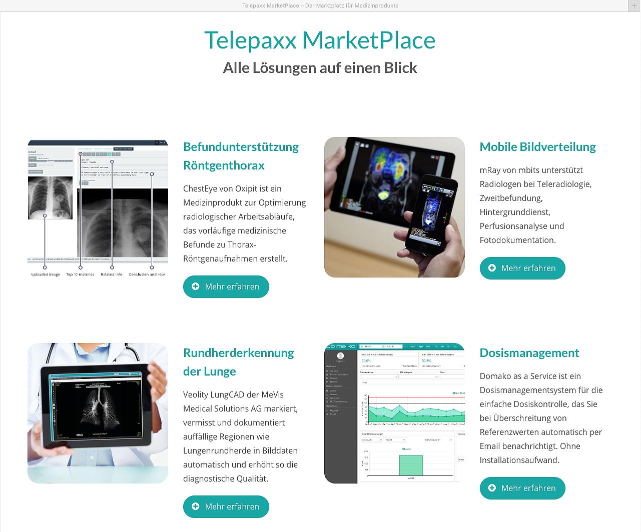 Marktplatz für Digital Health und Medical Deep Learning