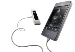 Ultraschall im Taschenformat mit Dual-Sonde und drahtloser Konnektivität