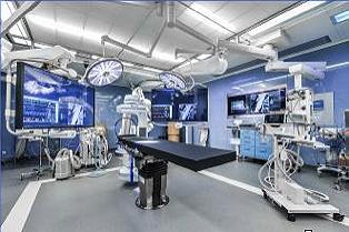 Medizinisches Display ermöglicht minimalinvasive Arbeiten im Hybrid-OP