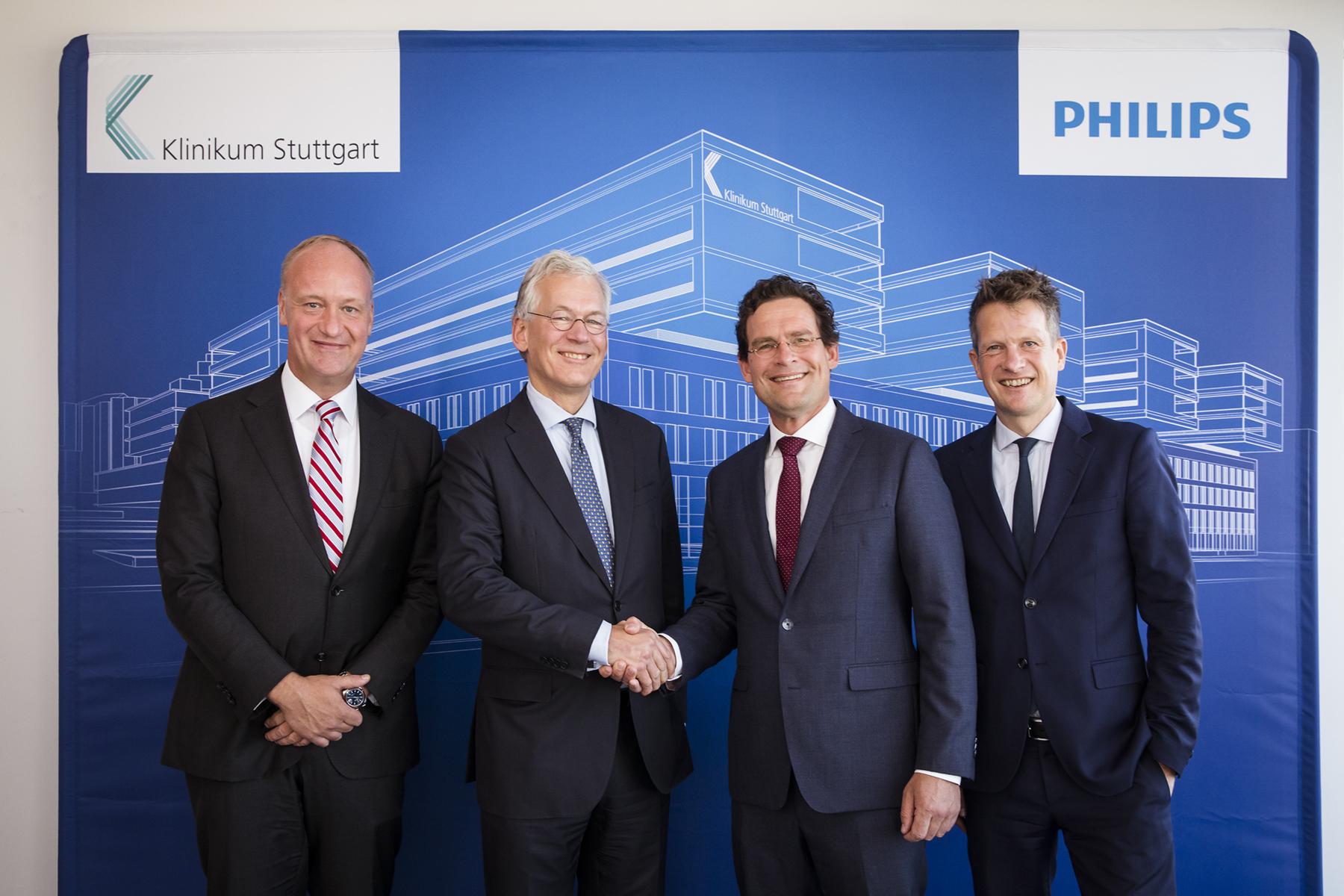Klinikum Stuttgart und Philips schließen wegweisende Innovationspartnerschaft