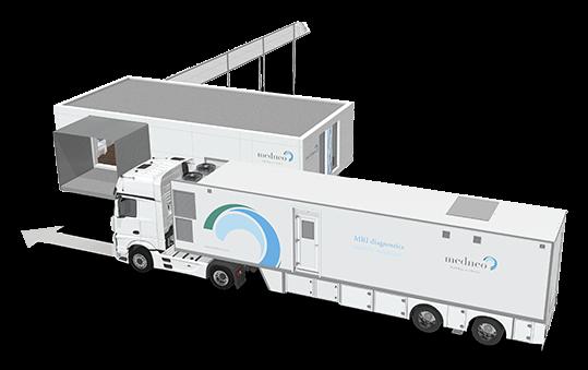 medneo: MRT-Bildgebung mobil und flexibel direkt vor Ort