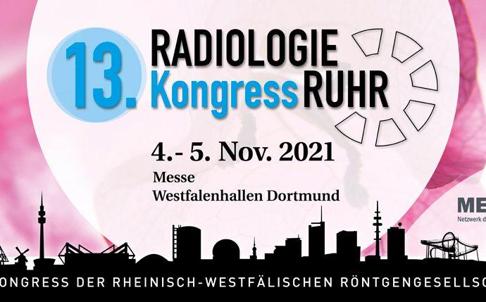 RadiologieKongressRuhr 2021 – Wir sehen uns in Dortmund