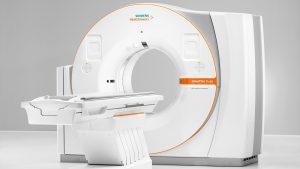 Neuer CT-Scanner  mit revolutionärem Bedienkonzept