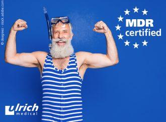 ulrich medical erhält MDR-Zertifikat für Klasse-Ir-Produkte