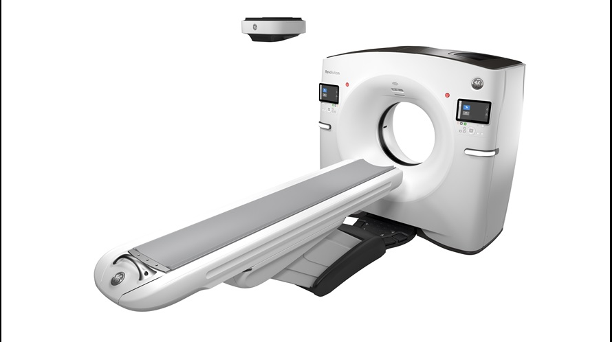 GE Healthcare  neuer intelligenter CT-Scanner