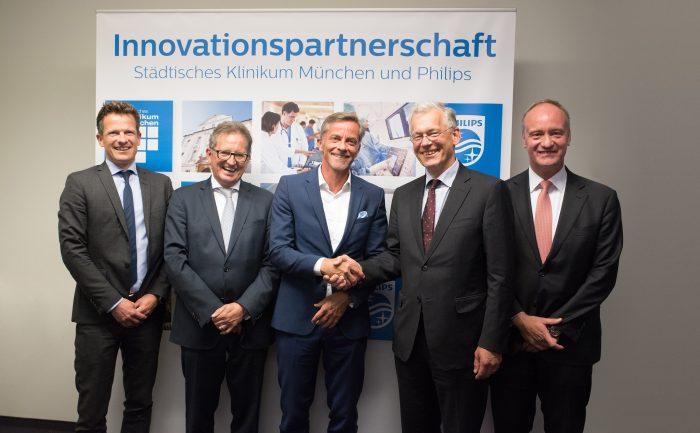 Das Städtische Klinikum München und Philips vereinbaren Innovationspartnerschaft